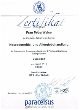 Neurodermatitis Treatment Naturopic Düsseldorf